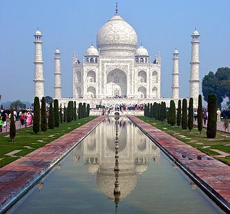 Makrana marble - Makrana marble was used in the construction of the Taj Mahal.