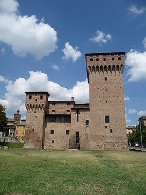 San Felice sul Panaro - Image: 31 07 2011 La Rocca lato sud