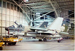 356th Tactical Fighter Squadron A-7D Corsair II 70-976 in Phase Hangar.jpg