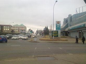 Maseru - Kingsway traffic