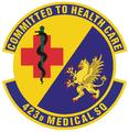 423 Medical Sq emblem.png