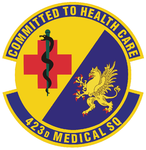 423 Medical Sq emblem.png