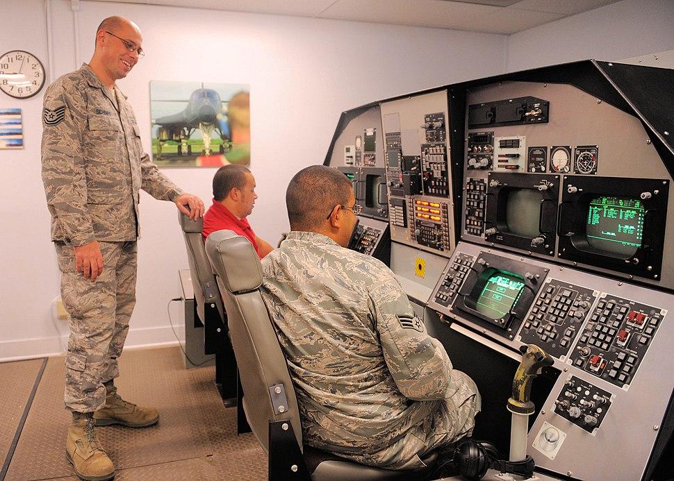 436th Training Squadron - simulator