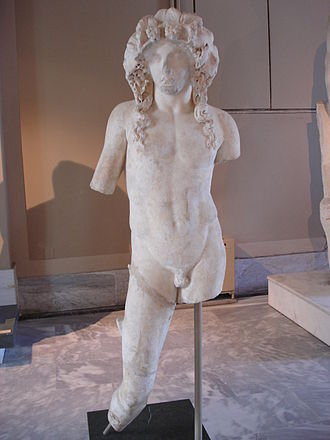 Synnada in Phrygia - 1st/2nd century AD Roman statue of Dionysus from Synnada