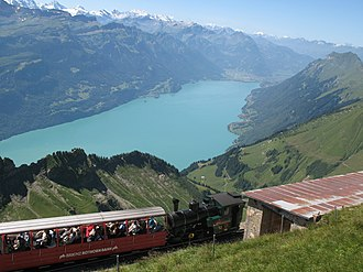 Brienzer Rothorn - Image: 5978 Brienz View from Rothorn