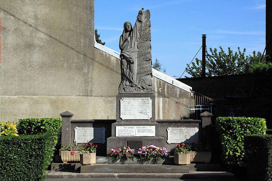 Monument aux Morts - Rue de l'Eglise, 59 Capinghem