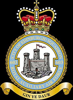 No. 603 Squadron RAF Force Protection squadron of the Royal Auxiliary Air Force