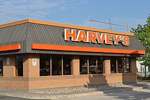 Harvey's - An old-style Harvey's restaurant in Toronto, Ontario