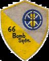 66th Bombardment Squadron - SAC - Emblem.png