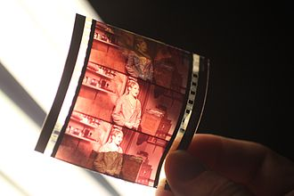 ORWO - Image: 70mm cinema film stripe