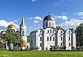 8116 Чернигов. Вид на Борисоглебскую церковь и Спасопреображенский собор.jpg