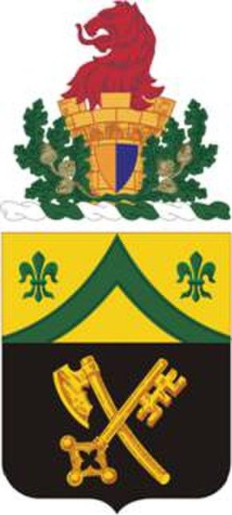 81st Armor Regiment - Coat of arms