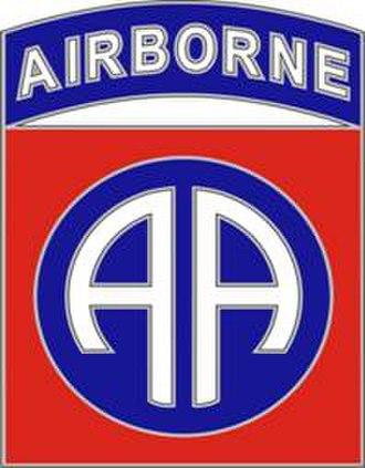 Charles H. Jacoby Jr. - Image: 82Airborne Div CSIB