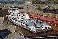 87j171 Steel Trader in 600-foot lock at McAlpine (8033861731).jpg