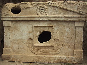 Olympos (Lycia) - Sarcophagus of captain Eudemos
