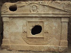 Olympos (Lycia) - Sarcophagus of captain Eudemos