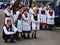 8 Bukowskie Prezentacje Folkloru Młodych Bukowsko 2009.JPG