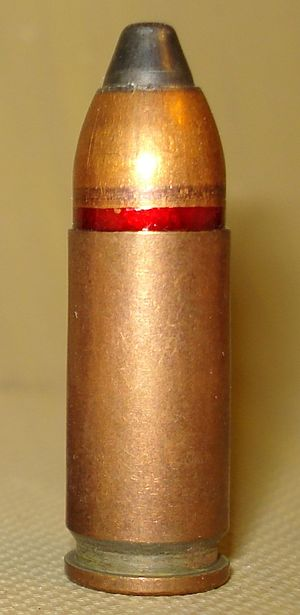 9×21mm Gyurza - 9x21 RG054 cartridge - the predecessor of SP10.