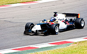 Michael Ammermüller - Ammermüller competing for A1 Team Germany at the 2008–09 A1 Grand Prix of Nations, South Africa.