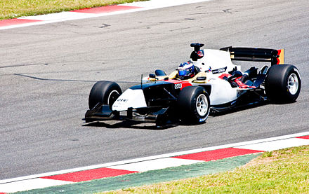 Ammermuller competing for A1 Team Germany at the 2008-09 A1 Grand Prix of Nations, South Africa. A1 Grand Prix, Kyalami - Germany.jpg
