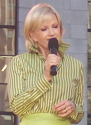 Cropped photo of Diane Sawyer