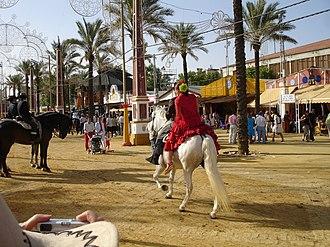 Feria de Jerez - Horse riding.