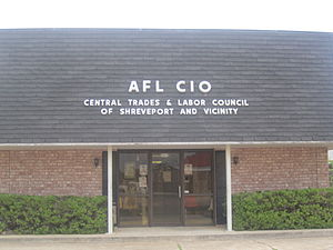 Victor Bussie - The AFL-CIO Central Trades and Labor Council on U.S. Highway 79 in west Shreveport helped to launch Victor Bussie's lengthy labor career.