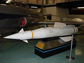 AGM-12D Bullpup missile on display at Air Force Armament Museum.jpg