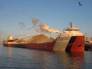 Lake freighter ship type