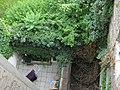 AT-4516 Reste Ghettomauer Tandelmarktg. 8 und 10 - überwuchert.JPG