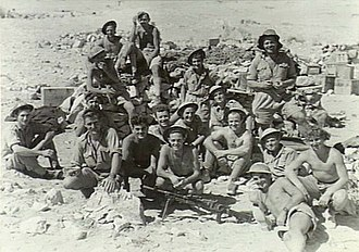 2/10th Battalion (Australia) - Image: AWM 009516 2 10th Australian Infantry Battalion April 1941