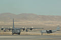A C-130 Hercules lands during the Mobility Air Forces Exercise at Nellis AFB.jpg