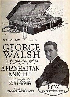 <i>A Manhattan Knight</i> 1920 film
