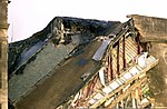 A collapsed portion of the Western ring wall of the Pentagon Building caused during the September 11, 2001 attacks. (Substandard image) 010911-N-AV833-077.jpg