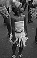 A girl participating in dance practice on the streets (Hillbrow, 2010).jpg