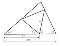 A triangle with a unilateral triangle.png