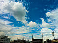 A view of clouds and sky, Dhaka (02).jpg