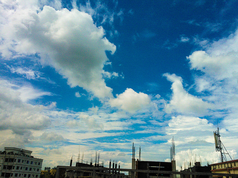 File:A view of clouds and sky, Dhaka (02).jpg