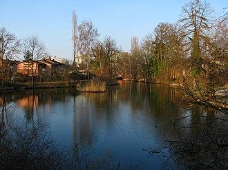 Aabach (Greifensee) - Image: Aabach (Wetzikon) IMG 4901