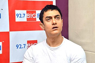 PK (film) - Aamir Khan, lead actor in PK