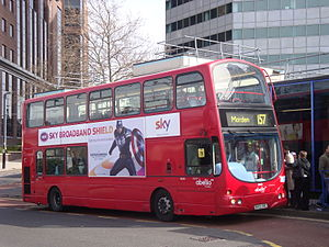 Abellio London 9030 on Route 157, West Croydon Bus Station.jpg