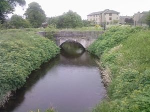 Aberdeenshire Canal - Possible remains of the canal at Port Elphinstone in 2007
