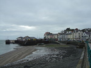 Aberdyfi - Aberdyfi, showing the harbour