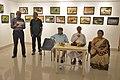 Abhoy Nath Ganguly Addressing - Inaugural Function - Atanu Ghosh Solo Exhibition - Kolkata 2016-10-20 0914.JPG