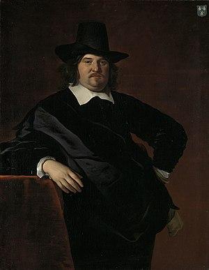 Abraham Lambertsz van den Tempel - Image: Abraham de Visscher (1605 67). Koopman te Amsterdam en bewindhebber van de West Indische Compagnie Rijksmuseum SK A 589
