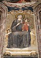 Abside di s. agostino, maestro dell'arengo, madonna in trono.JPG