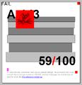 Acid3 in SeaMonkey 1.1.19 (Gecko rv1.8.1.24 score 59).png