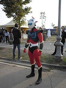 5 cm Toei Go Nagai Grendizer UFO Robot Porte-clés Métal Tête de GOLDORAK