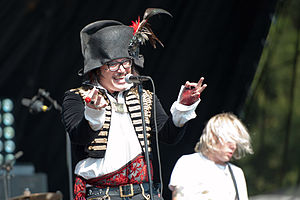 Adam Ant - Adam Ant at Music Midtown, Atlanta, 2012