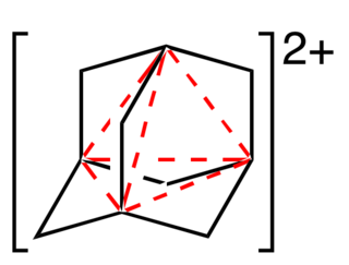 Four-center two-electron bond